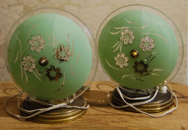 abat-jour-rotonda-verde-vetro